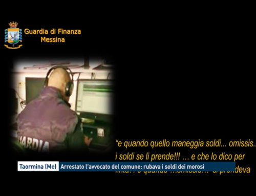 Taormina, arrestato l'avvocato del comune: rubava i soldi dei morosi