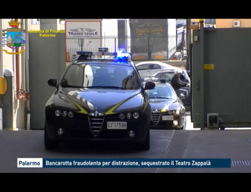 Palermo, bancarotta fraudolenta per distrazione: sequestrato il Teatro Zappalà