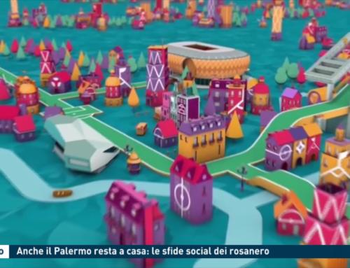Calcio: Anche il Palermo resta a casa: le sfide social dei rosanero
