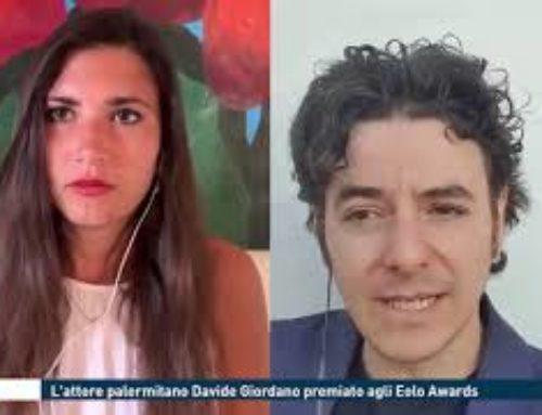 Roma – L'attore palermitano Davide Giordano premiato agli Eolo Awards