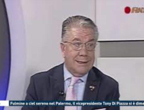 Calcio – Fulmine a ciel sereno nel Palermo, il vicepresidente Tony Di Piazza si è dimesso
