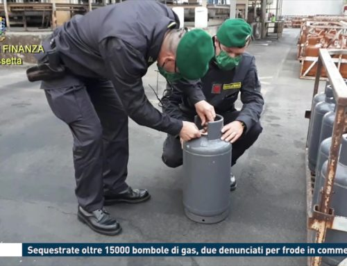 Enna – Sequestrate oltre 15000 bombole di gas, due denunciati per frode in commercio