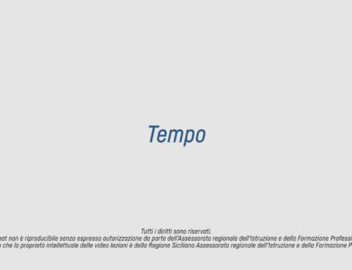 La Scuola in Tv – Tempo