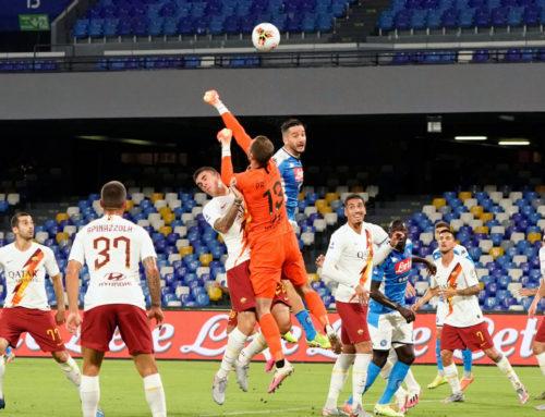 Napoli-Roma 2-1, decide l'eurogol di Insigne