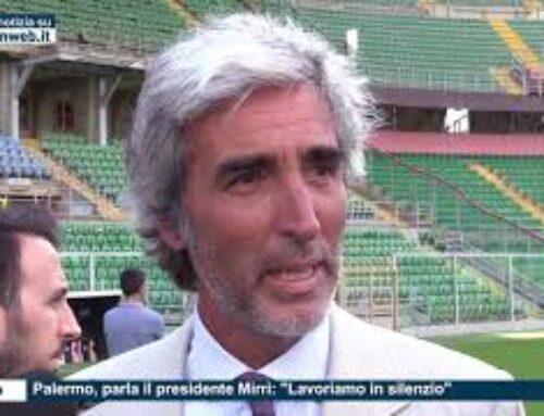 """Calcio – Palermo, parla il presidente Mirri: """"Lavoriamo in silenzio"""""""