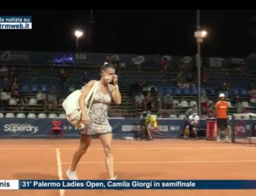 Tennis – 31′ Palermo Ladies Open, Camila Giorgi in semifinale