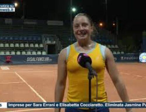 Tennis – Imprese per Sara Errani e Elisabetta Cocciaretto. Eliminata Jasmine Paolini
