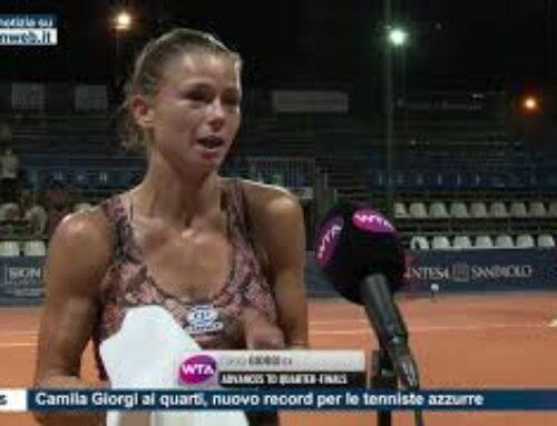 Tennis – Camila Giorgi ai quarti, nuovo record per le tenniste azzurre