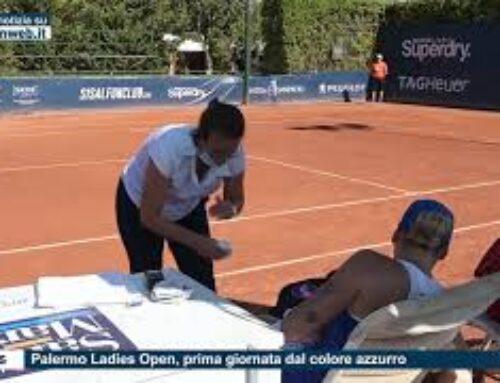 Tennis – Palermo Ladies Open, prima giornata dal colore azzurro