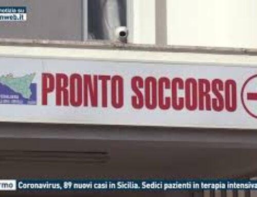 TGMED 23.09.20 PALERMO – CORONAVIRUS, 89 NUOVI CASI IN SICILIA. SEDICI PAZIENTI IN TERAPIA INTENSIVA