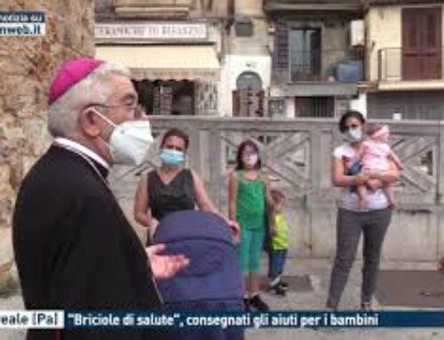 """TGMED 23.09.20 MONREALE (PA) – """"BRICIOLE DI SALUTE"""", CONSEGNATI GLI AIUTI PER I BAMBINI"""
