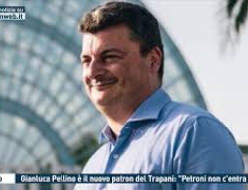 """TGMED 17.09.20 Calcio – Gianluca Pellino è il nuovo patron del Trapani: """"Petroni non c'entra più"""""""