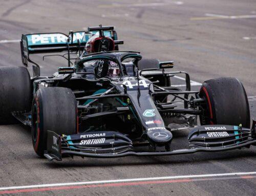Hamilton in pole a Portimao, seconda fila per Leclerc
