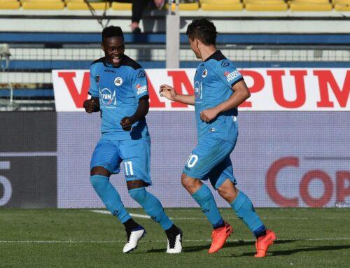 Il Parma rimonta due gol e pareggia 2-2 contro lo Spezia