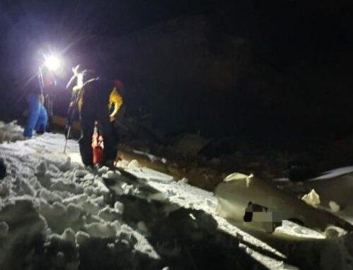 Precipita un elicottero sul monte Bianco, un morto e un ferito