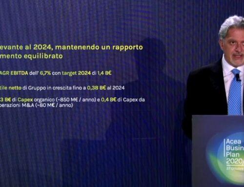 Acea, nel nuovo piano industriale investimenti per 4,7 miliardi