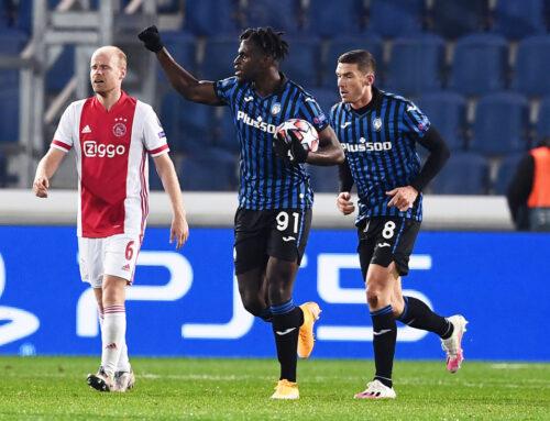Doppietta Zapata e rimonta Atalanta, da 0-2 a 2-2 con l'Ajax