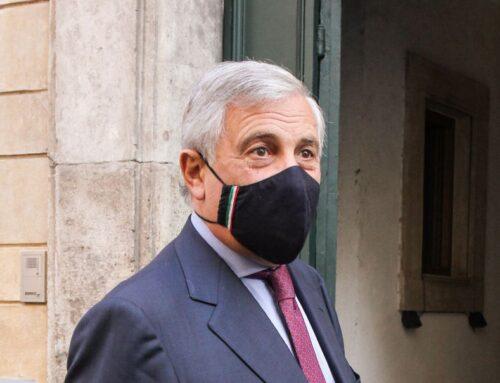 """Tajani """"No governo di unità nazionale, scriviamo insieme la manovra"""""""