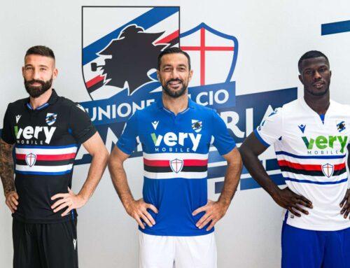 Very Mobile sarà il main jersey sponsor della Sampdoria