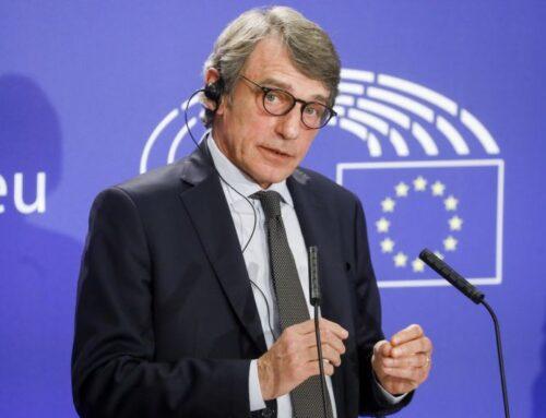 """Recovery Fund, Sassoli """"Non siamo in ritardo, Europa è forte"""""""