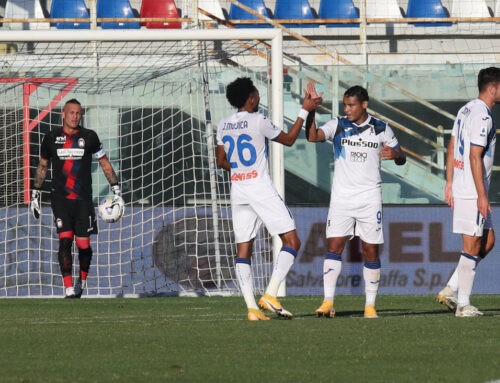 Doppietta Muriel, l'Atalanta vince 2-1 a Crotone