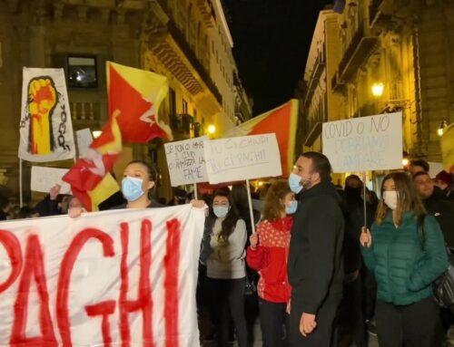 Coronavirus, a Palermo protesta esercenti contro le chiusure