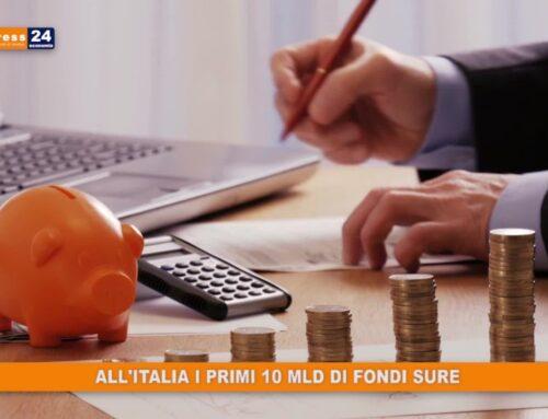 Covid, all'Italia i primi 10 mld del fondo SURE