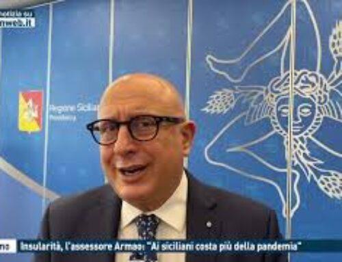 """TGMED 30.10.20 PALERMO – INSULARITA', L'ASSESSORE ARMAO: """"AI SICILIANI COSTA PIU' DELLA PANDEMIA"""""""