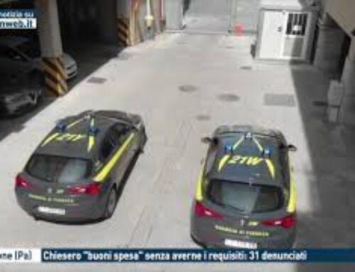 """TGMED 30.10.20 – CORLEONE (PA) – CHIESERO """"BUONI SPESA"""" SENZA AVERNE I REQUISITI: 31 DENUNCIATI"""
