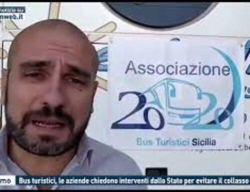 TGMED 26.10.20 PALERMO – BUS TURISTICI, LE AZIENDE CHIEDONO INTERVENTI DALLO STATO PER EVITARE IL COLLASSO