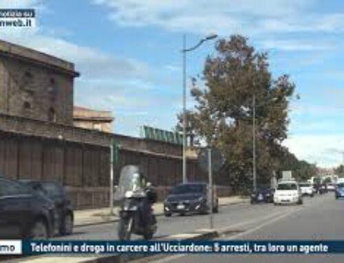 TGMED 27.10.20 PALERMO – TELEFONINI E DROGA IN CARCERE ALL'UCCIARDONE: 5 ARRESTI, TRA LORO UN    AGENTE