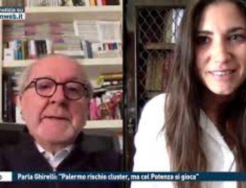 """TGMED 23.10.20 CALCIO – PARLA GHIRELLI: """"PALERMO RISCHIO CLUSTER, MA COL POTENZA SI GIOCA"""""""