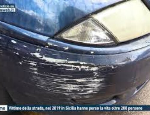 TGMED 28.10.20 PALERMO – VITTIME DELLA STRADA, NEL 2019 IN SICILIA HANNO PERSO LA VITA OLTRE 200 PERSONE