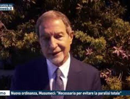 """TGMED 24.10.20 PALERMO – NUOVA ORDINANZA, MUSUMECI: """"NECESSARIA PER EVITARE LA PARALISI TOTALE"""""""