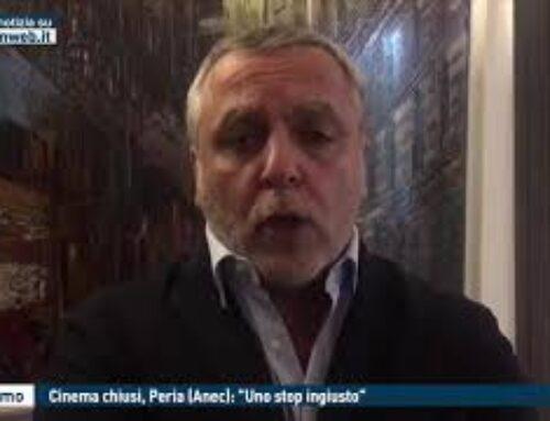 """TGMED 27.10.20 PALERMO – CINEMA CHIUSI, PERIA (ANEC): """"UNO STOP INGIUSTO"""""""
