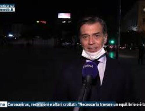 """TGMED 30.10.20 PALERMO – CORONAVIRUS, RESTRIZIONI E AFFARI CROLLATI: """"NECESSARIO TROVARE UN EQUILIBRIO O E' LA FINE"""""""