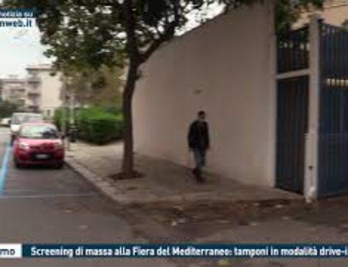 TGMED 27.10.20 PALERMO – SCREENING DI MASSA ALLA FIERA DEL MEDITERRANEO: TAMPONI IN MODALITA' DRIVE-IN