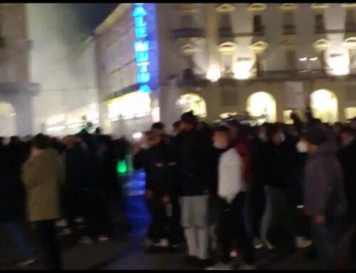 Coronavirus, a Torino proteste e scontri