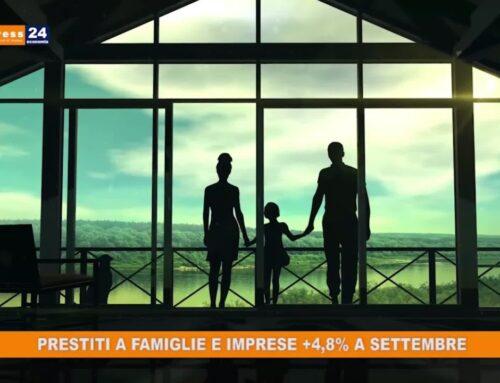 In crescita i prestiti alle famiglie