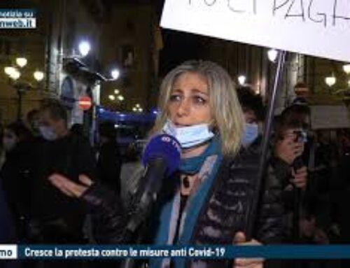 TGMED 28.10.20 PALERMO – CRESCE LA PROTESTA CONTRO LE MISURE ANTI COVID
