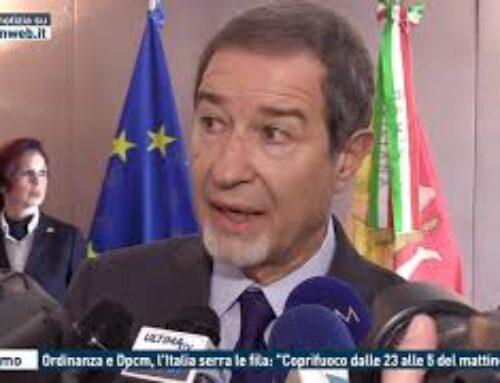"""TGMED 24.10.20 PALERMO – ORDINANZA E DPCM, L'ITALIA SERRA LE FILA: """"COPRIFUOCO DALLE 23 ALLE 5 DEL MATTINO"""""""