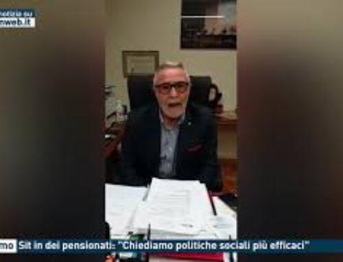 """TGMED 29.10.20 PALERMO – SIT IN DEI PENSIONATI: """"CHIEDIAMO POLITICHE SOCIALI PIU' EFFICACI"""""""