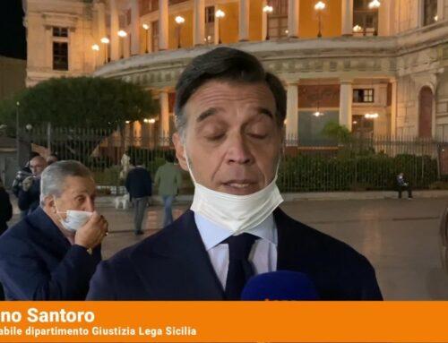 Coronavirus, sit-in a Palermo contro chiusure alle 18