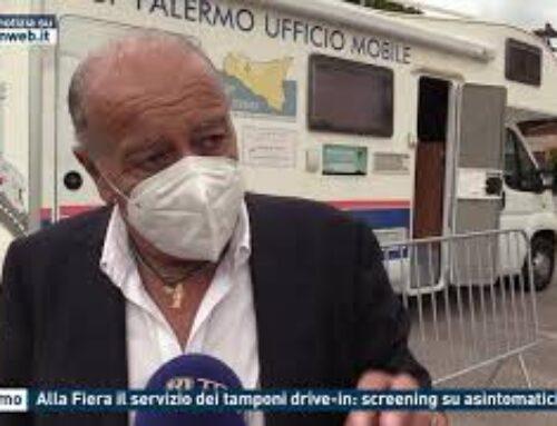 TGMED 30.10.20 PALERMO – ALLA FIERA IL SERVIZIO DEI TAMPONI DRIVE-IN: SCREENING SU ASINTOMATICI