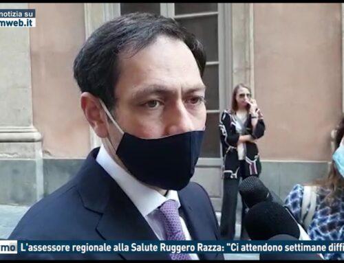 """Palermo, l'Assessore regionale alla Salute Ruggero Razza: """"Ci attendono settimane difficili"""""""