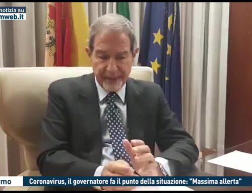 """Coronavirus, il governatore fa il punto della situazione: """"Massimo Allerta"""""""