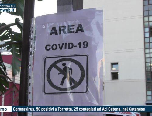 Palermo, coronavirus 50 positivi a Torretta. 25 contagiati ad Aci Catena, nel catanese
