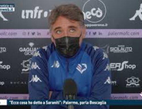 """TGMED 18.11.20 CALCIO – """"ECCO COSA HO DETTO A SARANITI"""": PALERMO, PARLA BOSCAGLIA"""