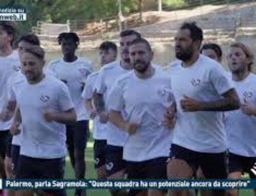 """TGMED 23.11.20 CALCIO – PALERMO, PARLA SAGRAMOLA: """"QUESTA SQUADRA HA UN POTENZIALE ANCORA DA SCOPRIRE"""""""