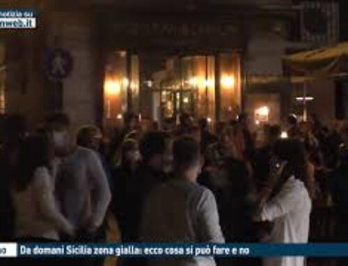 TGMED 28.11.20 PALERMO – DA DOMANI SICILIA ZONA GIALLA: ECCO COSA SI PUO' FARE E NO